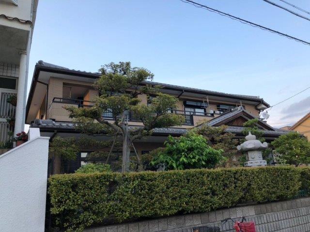 愛知県 名古屋市 中川区 O様邸 外壁塗装j工事(フッ素仕様)