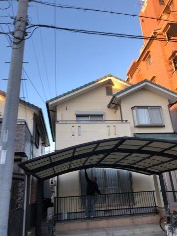 愛知県 名古屋市 中川区 U様邸 外壁塗装工事(フッ素仕様)