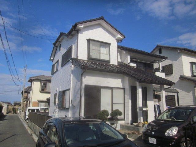 愛知県 愛西市 T様邸 外壁塗装工事 (シリコン仕様)