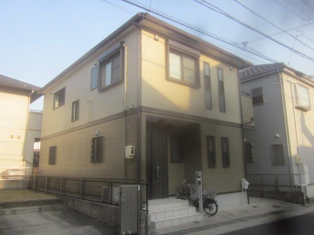 屋根塗装 外壁塗装 バルコニー防水 外壁付帯部塗装完了