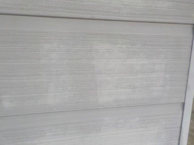外壁サイディング塗装高圧洗浄完了