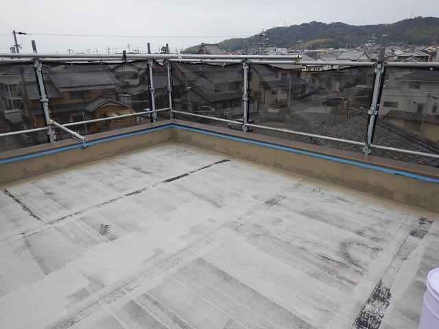 屋上ウレタン防水施工前