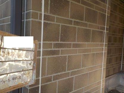 外壁サイデイング目地コーキング打替え完了