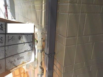 雨樋上塗り二層目完了