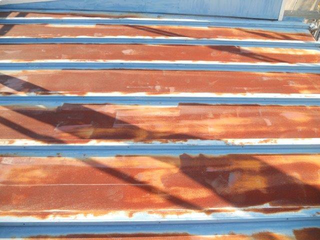 屋根板金塗装施工前