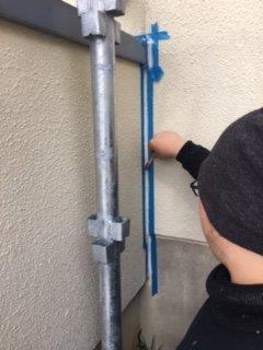 外壁ALCコーキング補修状況