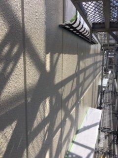外壁ALC下塗り一層目塗装完了