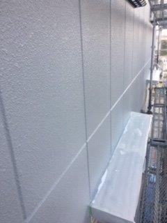 外壁ALC下塗り二層目塗装完了