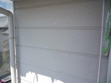 外壁サイディング塗装下塗り完了