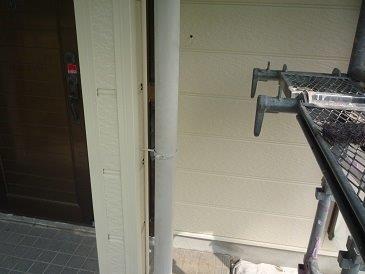 雨樋塗装施工前