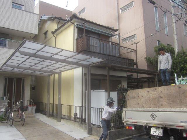 名古屋市 中川区 K様邸 外壁塗装工事(シリコン仕様)
