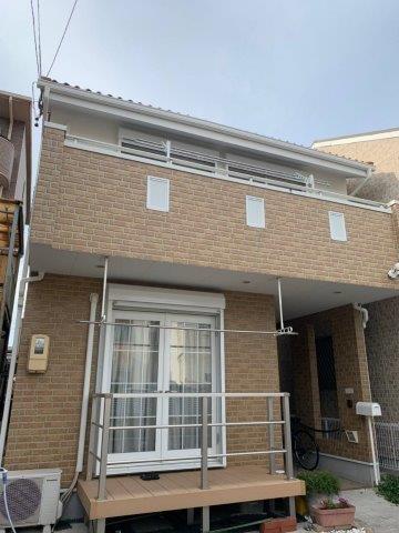 愛知県 名古屋市 熱田区 K様邸 外壁塗装工事(キルコ遮断熱塗料)