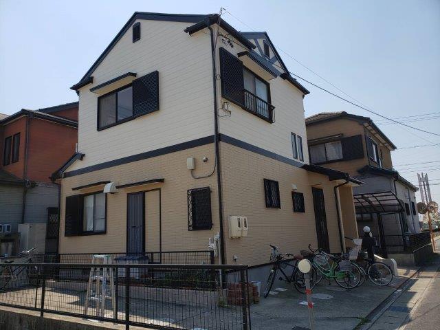 愛知県 名古屋市 中川区 N様邸 外壁塗装工事(断熱仕様)屋根塗装工事(遮断熱仕様)