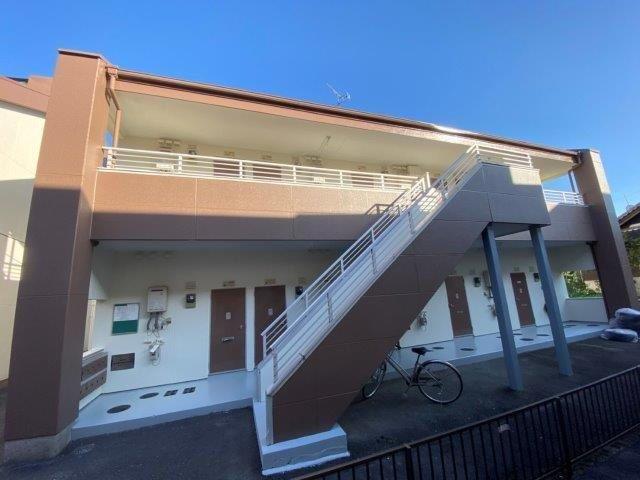 愛知県 安城市 I様 Vアパート 外壁塗装工事(ラジカルシリコン仕様)屋根塗装工事(遮熱シリコン仕様)