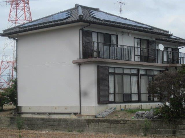 愛知県 海部郡飛島村 O様邸 外壁塗装工事(フッ素仕様)