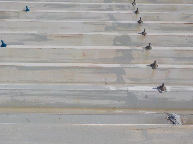 折半屋根塗装高圧洗浄