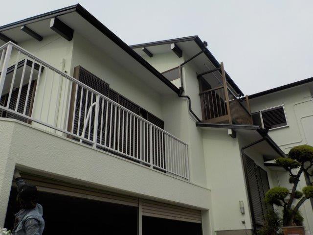 愛知県 名古屋市 緑区 K様邸 外壁塗装工事(キルコ断熱塗料)屋根塗装工事(キルコ遮断熱塗料)