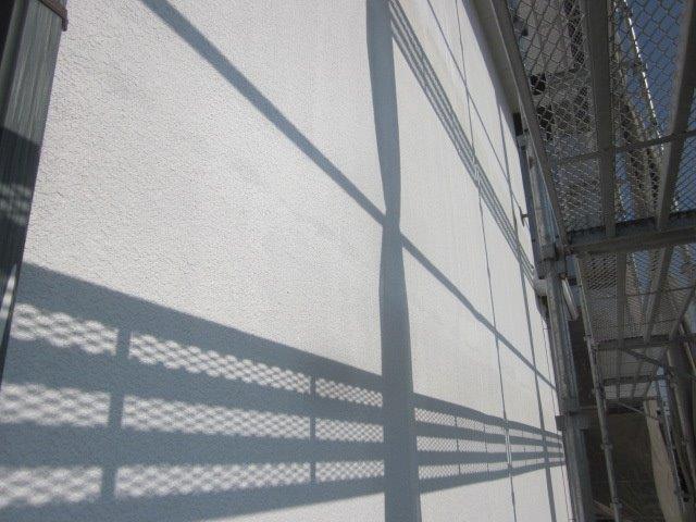 外壁ALC塗装フッ素塗料塗装下塗り二層目塗装完了