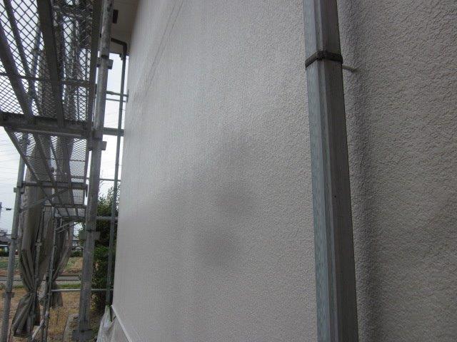 外壁ALC塗装フッ素塗料塗装上塗り二層目塗装完了