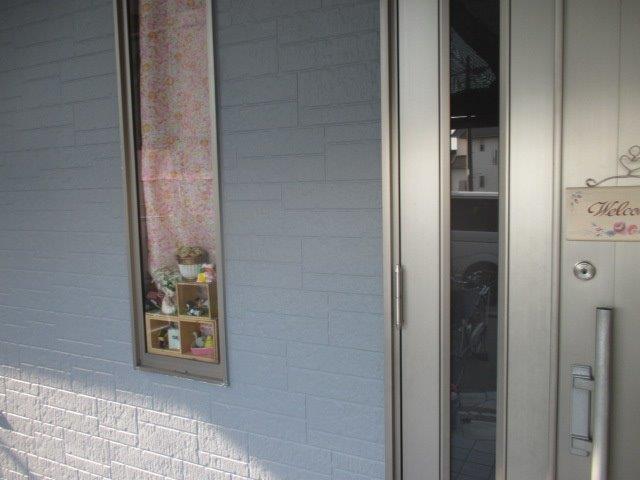外壁サイディングキルコ断熱塗料トップコート塗装完了