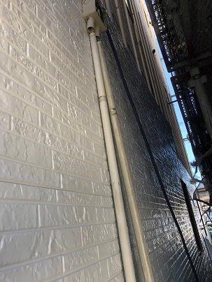 外壁サイデイング張替え施工前