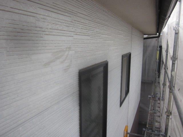 外壁サイデイング塗装施工前