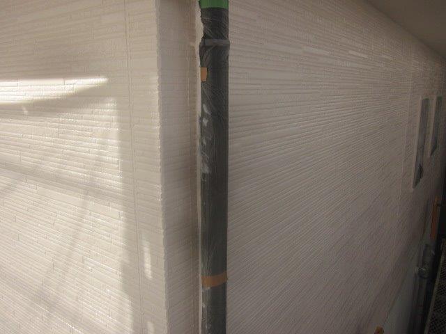 外壁サイデイングフッ素塗料塗装上塗り二層目塗装完了