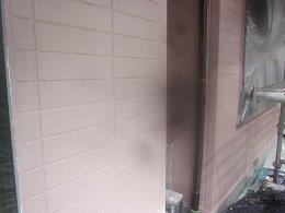 外壁ALCキルコ断熱塗料二層目塗装完了