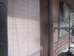 外壁ALCキルコ断熱塗料トップコート塗装完了