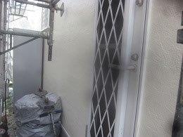 外壁サイディングサッシ廻りコーキング打替え完了