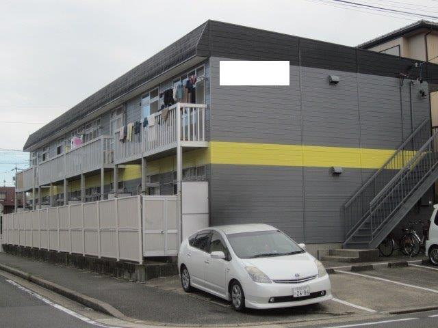 愛知県 名古屋市 港区 Hアパート屋根塗装工事(遮熱シリコン塗料)外壁塗装工事(溶剤シリコン塗料)
