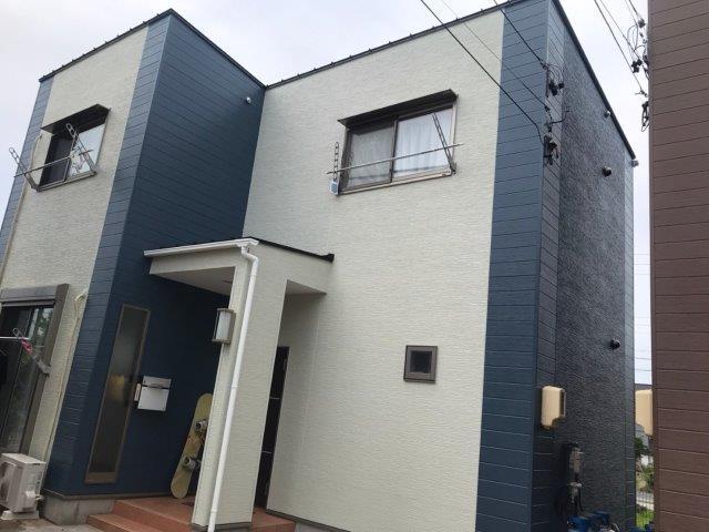 愛知県 海部郡 蟹江町 T様 Rアパート外壁塗装工事(シリコン塗料)屋根塗装工事(遮熱シリコン塗料)