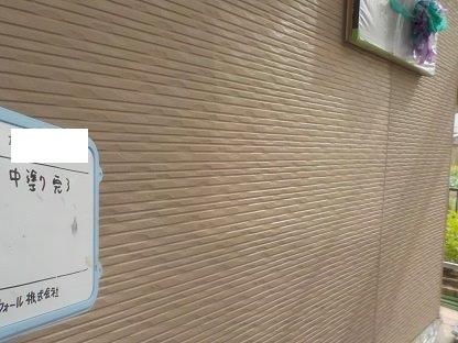 外壁サイディングキルコ断熱塗料塗装上塗り二層目完了