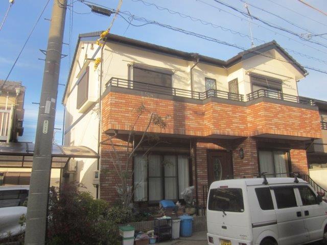 愛知県 名古屋市 南区 M様邸 外壁塗装工事(キルコ断熱塗料)