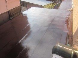 屋根上塗り塗装