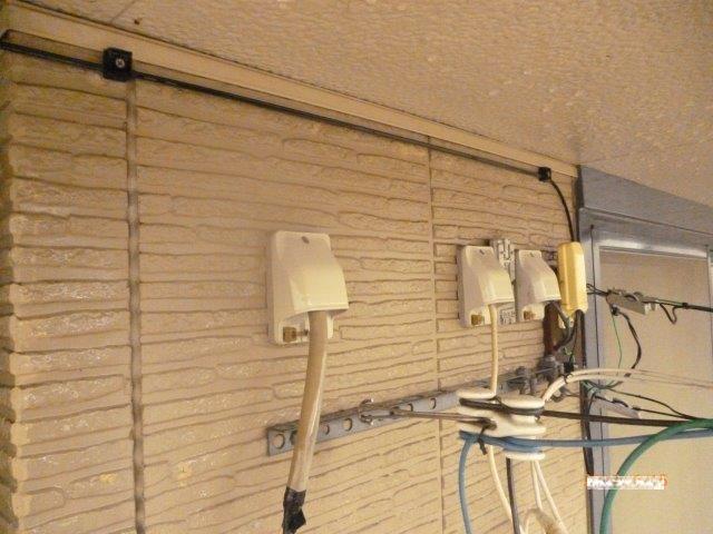 外壁塗装前高圧洗浄完了