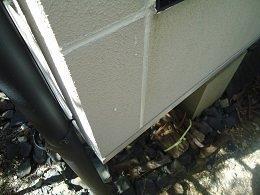 外壁サイディング目地コーキング打設完了