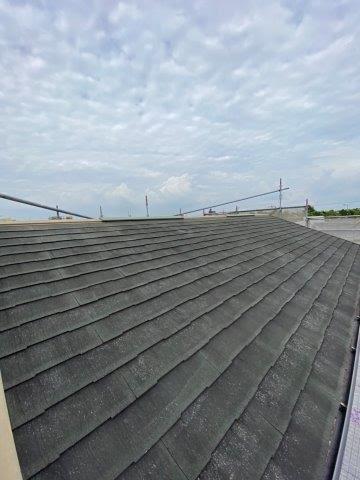 屋根遮断熱塗料塗装施工前