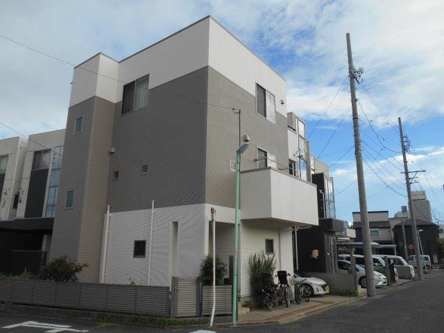 愛知県 名古屋市 中村区 M様邸 外壁塗装工事施工事例