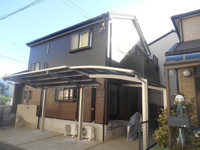 愛知県 名古屋市 中川区 N様邸 外壁塗装施工事例