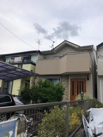 愛知県 名古屋市 天白区 I様邸 外壁塗装工事施工事例