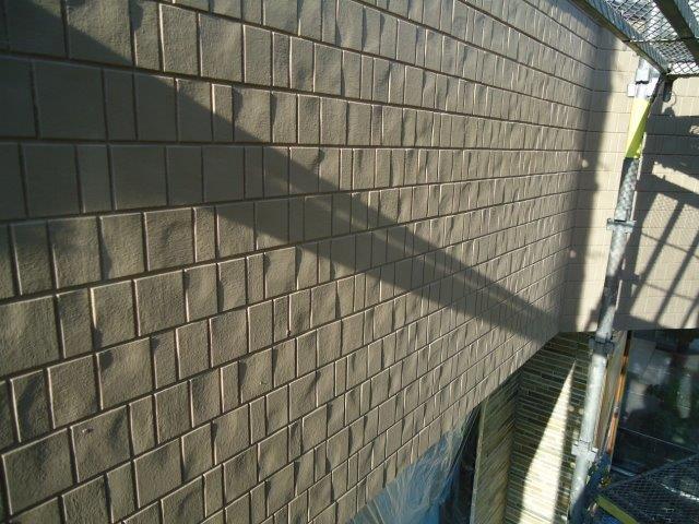 外壁サイディング断熱塗料塗装トップコート塗装完了
