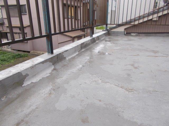 バルコニー防水施工前