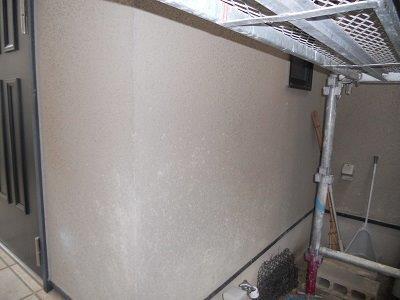 外壁サイディング断熱塗料塗装施工前