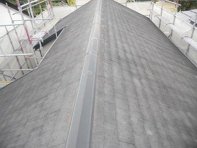 屋根カラーベスト遮断熱塗料塗装施工前