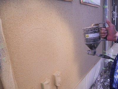 外壁サイディング断熱塗料塗装前補修状況