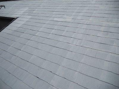 屋根カラーベスト遮断熱塗料塗装断熱塗料二層目塗装完了