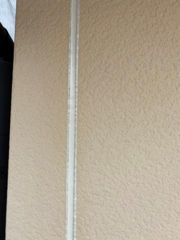 外壁サイデイング断熱塗料塗装前コーキング打ち替え目地既存コーキング打設完了