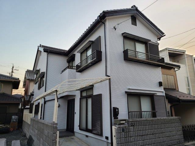 愛知県名古屋市中川区 K様 外壁塗装工事施工事例