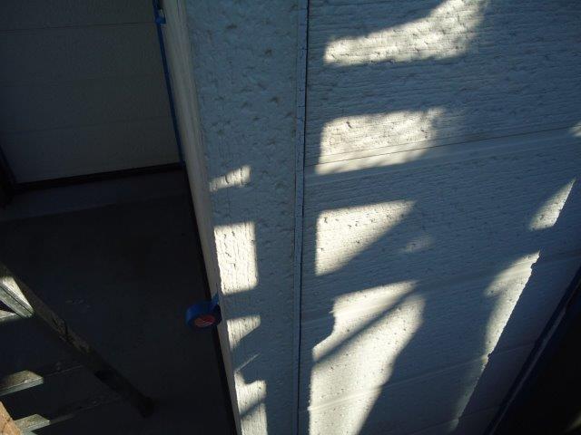 外壁サイデイング目地コーキング打ち替え施工前